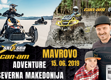 CAN-AM ADVENTURE NORTH MACEDONIA; NACIONALNI PARK MAVROVO