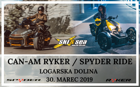 CAN-AM SPYDER & RYKER RIDE SLOVENIA