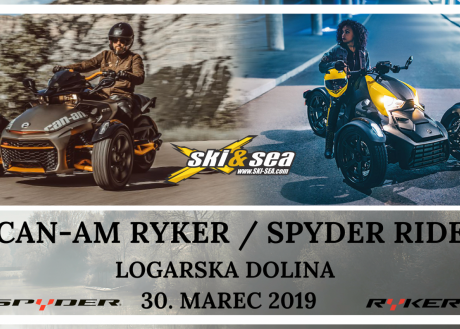 CAN-AM SPYDER & RYKER RIDE SLOVENIJA