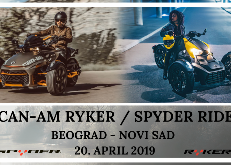 CAN-AM SPYDER & RYKER RIDE SRBIJA