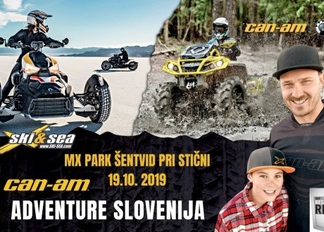 CAN-AM ADVENTURE SLOVENIJA - MX PARK V ŠENTVIDU PRI STIČNI
