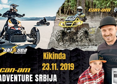 CAN-AM ADVENTURE SERBIA; KIKINDA