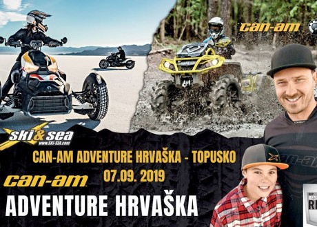 CAN-AM ADVENTURE HRVATSKA; TOPUSKO