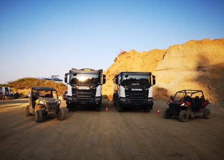 TESTING CAN-AM VEHICLES IN COOPERATION WITH COMPANY SCANIA