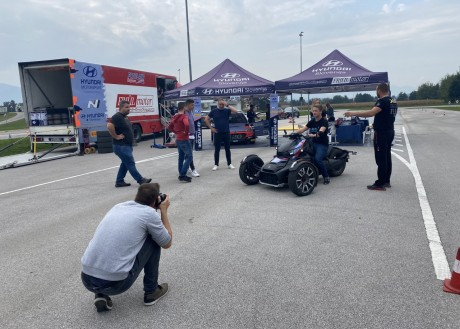 JOURNALIST´S TESTING RIDES WITH CAN-AM RYKER IN COOPERATION WITH ROK TURK, RALLY RACER